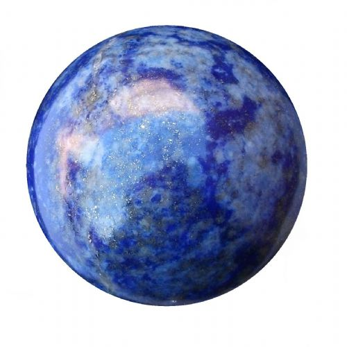 Lapis Lazuli Fortune Telling Ball Scrying Crystal Sphere 60mm 340g (LB2)